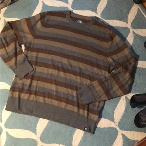 Stripped The North Face Wool Sweater-Men's